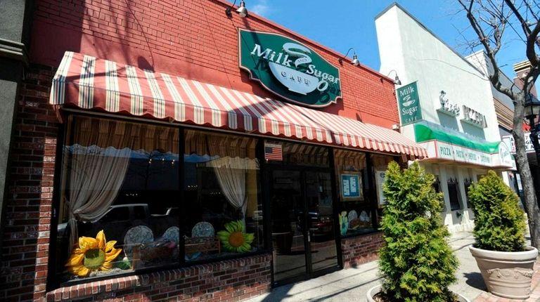 Milk and Sugar Café, at 49 W. Main