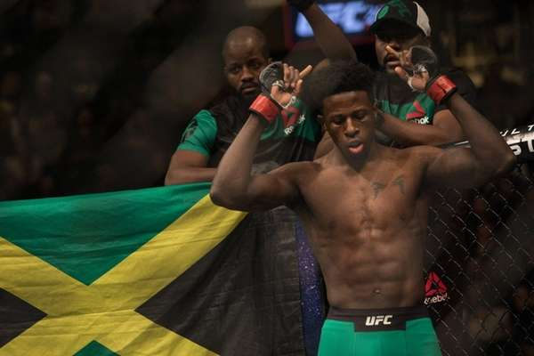 Welterweight Randy Brown prepares to fight Belal Muhammed