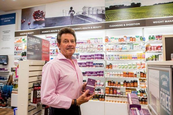 Vitamin World CEO Michael Madden at the retail