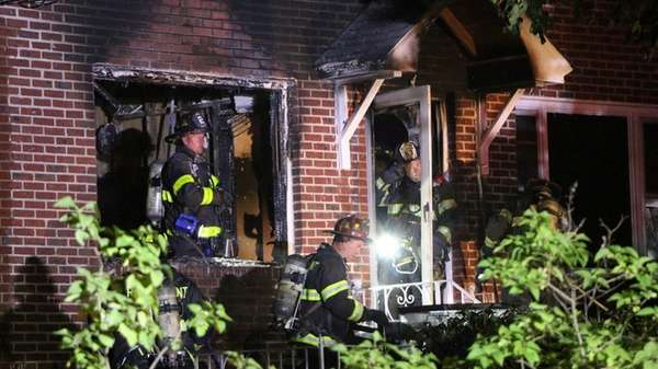 Rocky Point firefighters respond to a late-night house