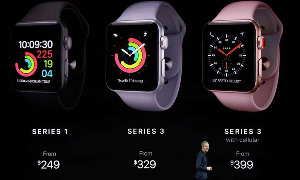 At Apple's keynote presentation on Tuesday, Sept. 12,