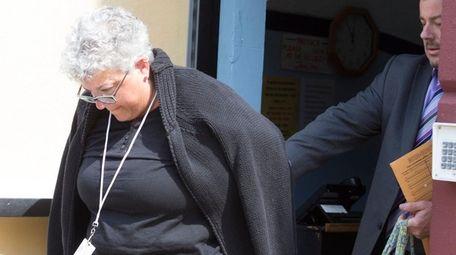 Hempstead High School teacher Theresa Cucina, 55, is