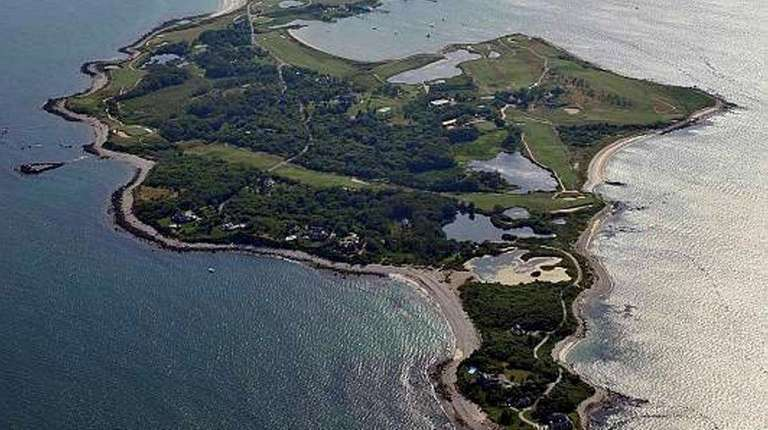 Fishers Island as seen on July 3, 2012.