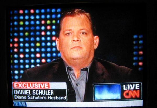 Daniel Schuler, the husband of Diane Schuler, appears