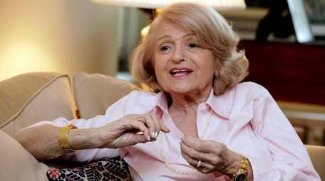 Edith Windsor, seen here in 2012, brought a