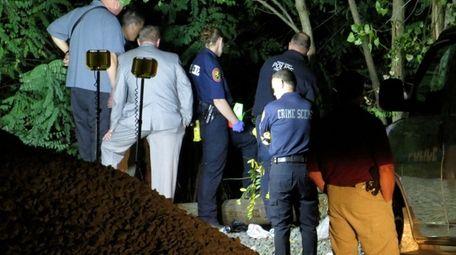 Glen Cove police and Nassau County police investigate