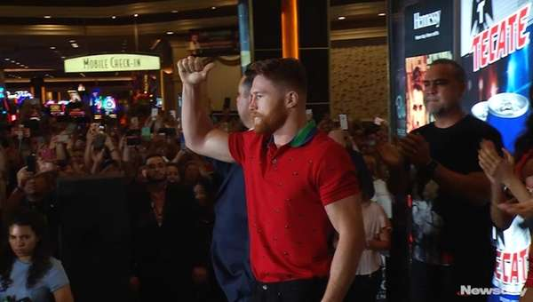 Canelo Alvarez and Gennady Golovkin made their grand