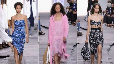 The Michael Kors NYFW runway show on Wednesday