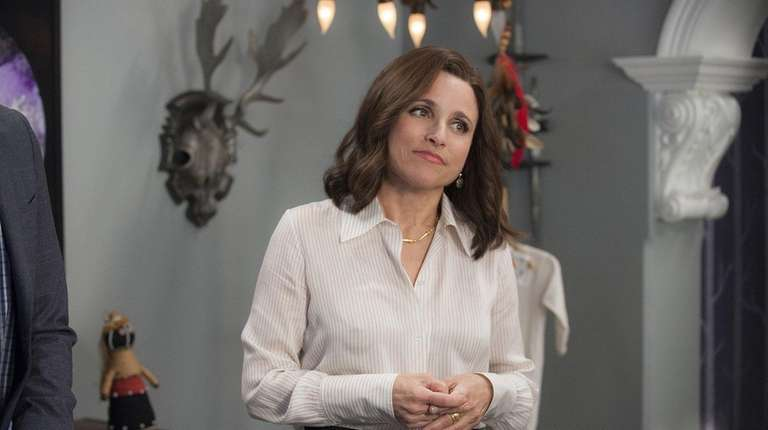 Julia Louis-Dreyfus stars in HBO's Veep