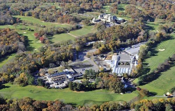 A view of the Oheka Castle property in