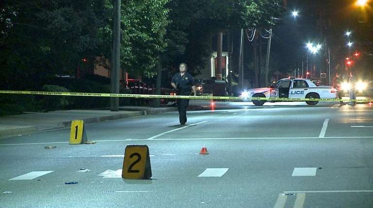 An 80-year-old woman was killed by a hit-and-run