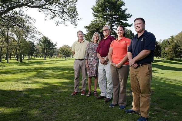The Jurgens Family (from left) Rick Jurgens, Barbara
