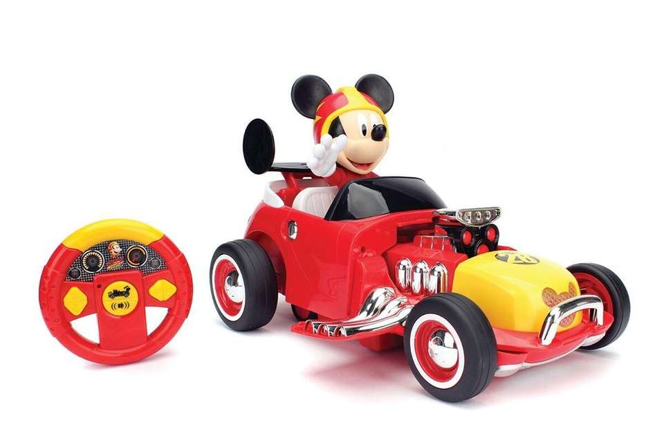 This R/C vehicle is based on Disney Jr.'s