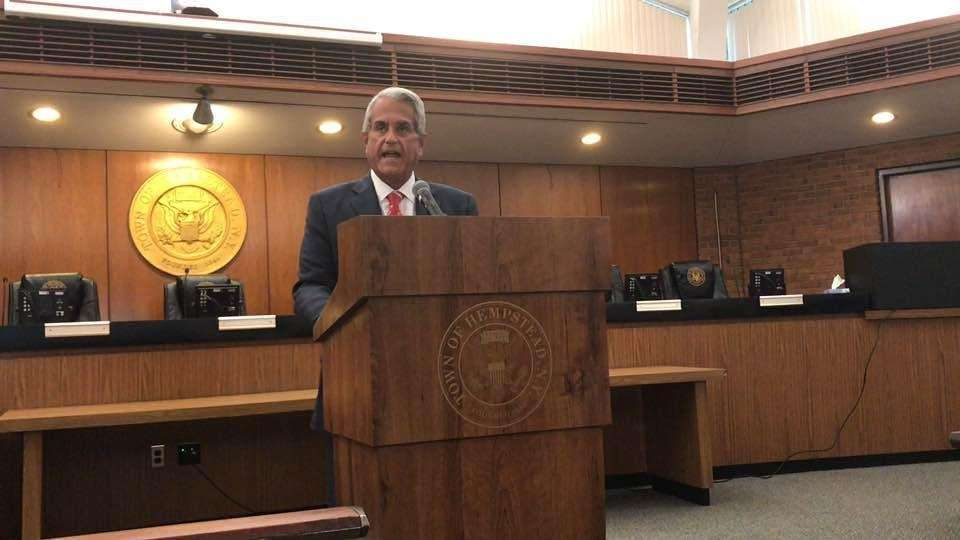 Hempstead Town Supervisor Anthony Santino's State of the