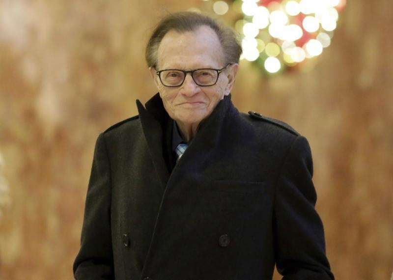 Talk-show host Larry King says he is recovering