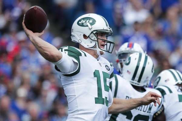 Jets quarterbackJosh McCown of the New York Jets