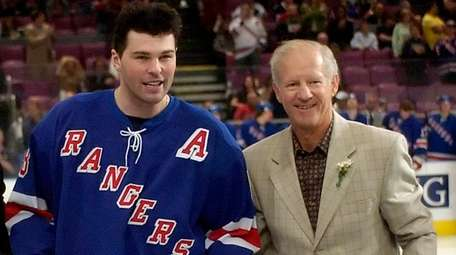 The Rangers will raise Jean Ratelle's number to