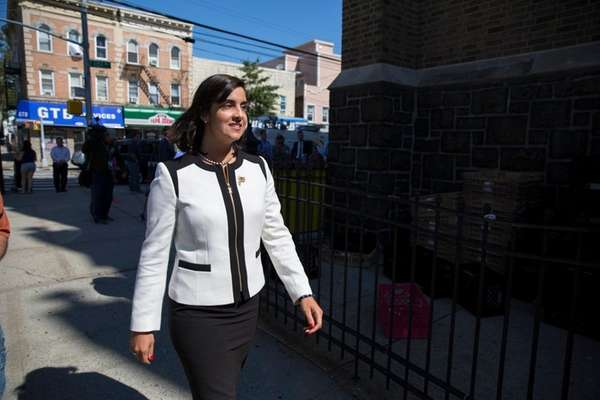 Nicole Malliotakis, Republican mayoral candidate, outlined a series