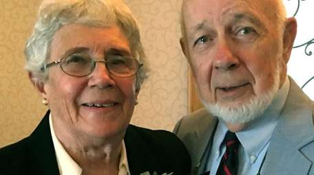 Barbara and Paul Donahue of Center Moriches celebrated