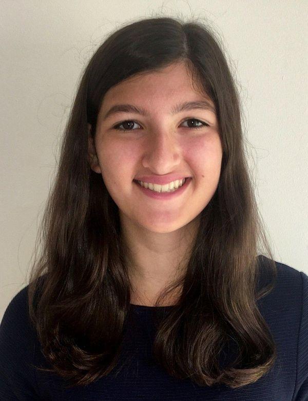 Caroline Katz, a student at Paul D. Schreiber