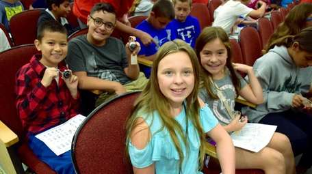 Incoming sixth-graders at Jonas E. Salk Middle
