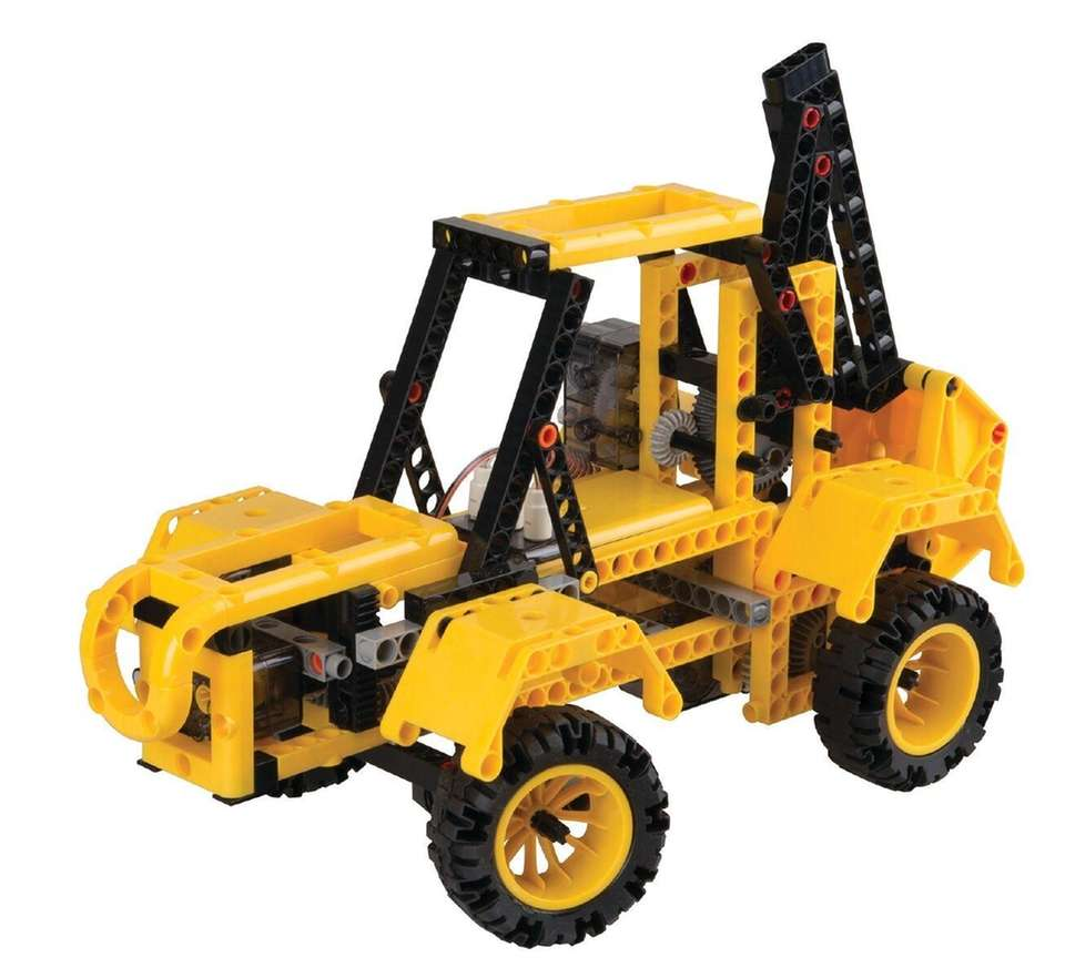 Build eight models of heavy-duty construction vehicles and