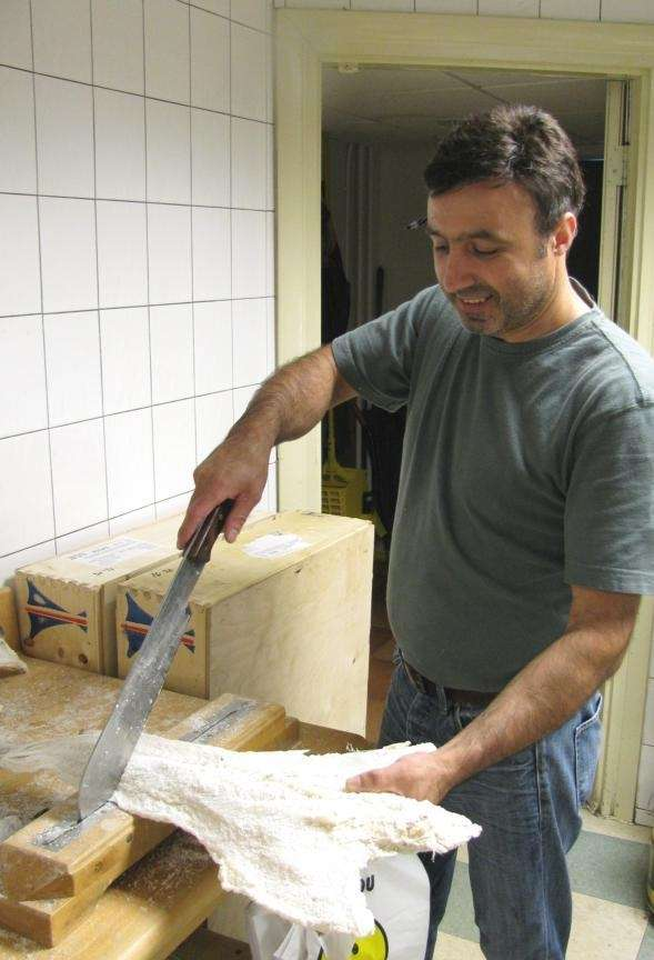 At Europa Supermarket in Mineola, co-owner Rui Pereira