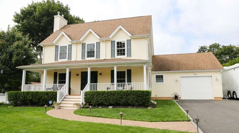This house, on Fanning Avenue in Hampton Bays,