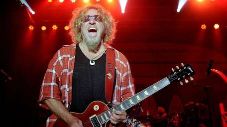 Sammy Hagar is still moving fast -- he