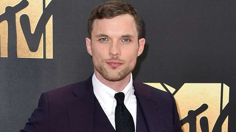 Actor Ed Skrein arrives at the MTV Movie
