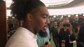 Jets defensive end Leonard Williams talked about the