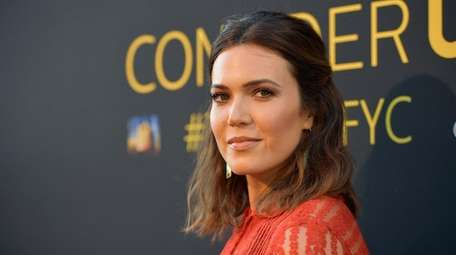 Mandy Moore, seen here on Aug. 14, 2017,