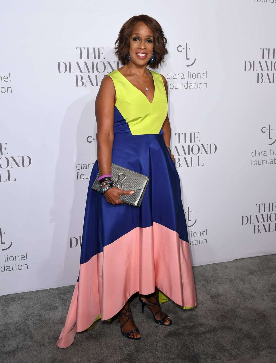 Gayle King attends Rihanna's third annual Diamond Ball