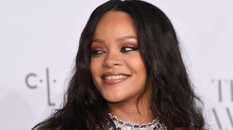 Rihanna attends her third annual Diamond Ball benefiting