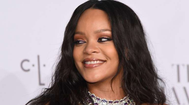 Rihanna attends her third annual Diamond Ball benefiting