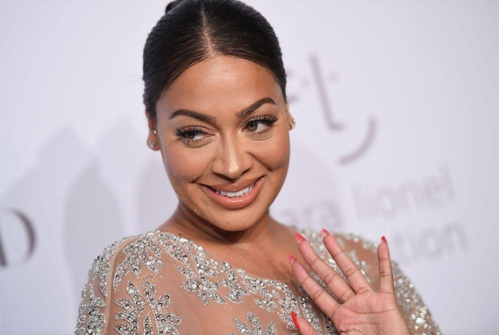 TV personality La La Anthony attends Rihanna's third
