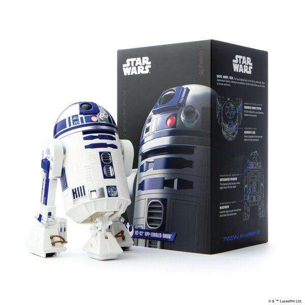 Kids can control the droid with a smart