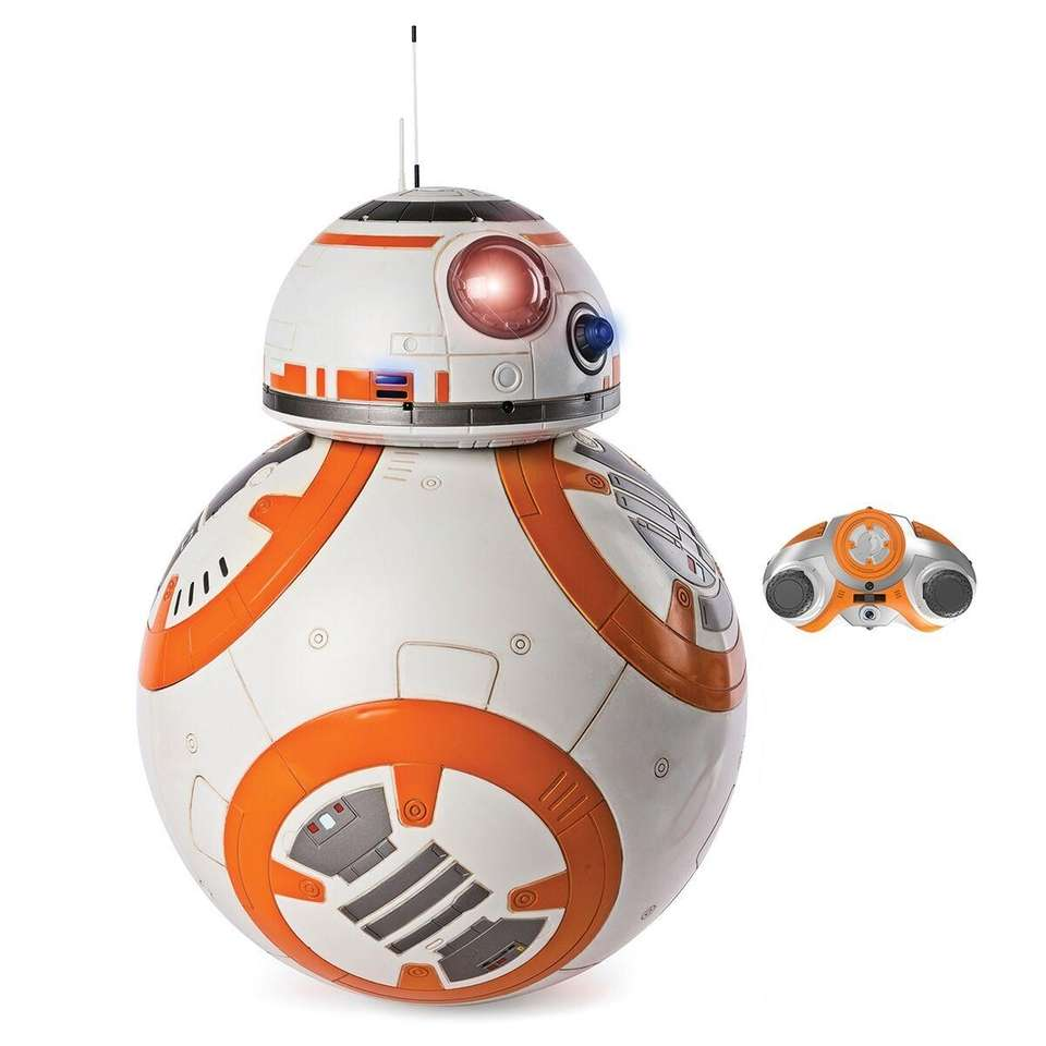 Standing more than 16-inches tall, the BB-8 Droid