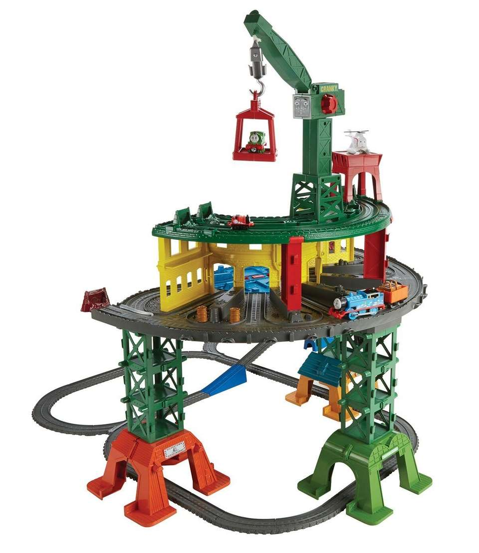 This multisystem track set includes 10 Sodor locations