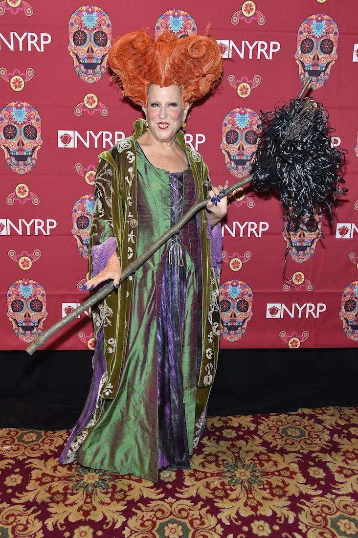 Bette Midler reprised her role as Winifred Sanderson
