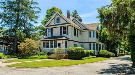The five-bedroom, 2 1/2-bathroom Wantagh Colonial features some