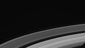 The final Saturn ringscape photographed by NASA's Cassini