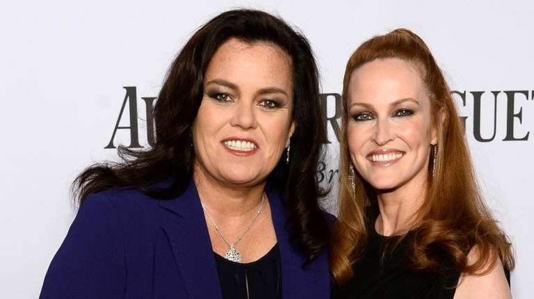 Rosie O'Donnell and Michelle Rounds attend the 68th
