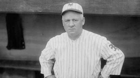 John McGraw, in an undated photo, managed the