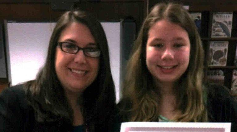 William T. Rogers school principal Lauren Moreno and