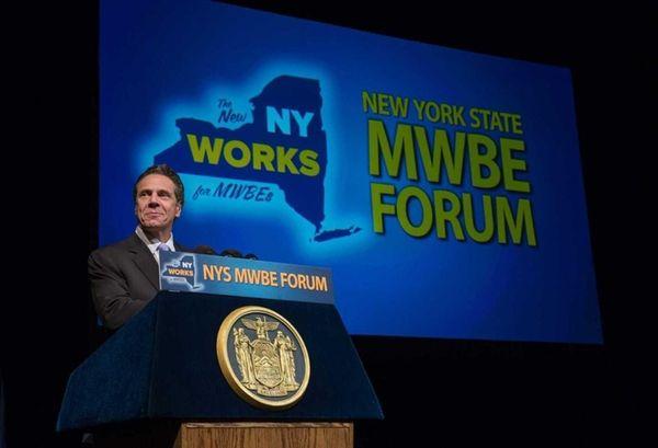 Gov. Andrew M. Cuomo at the 2014 New