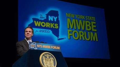 Gov. Andrew M. Cuomo at the 2014 New
