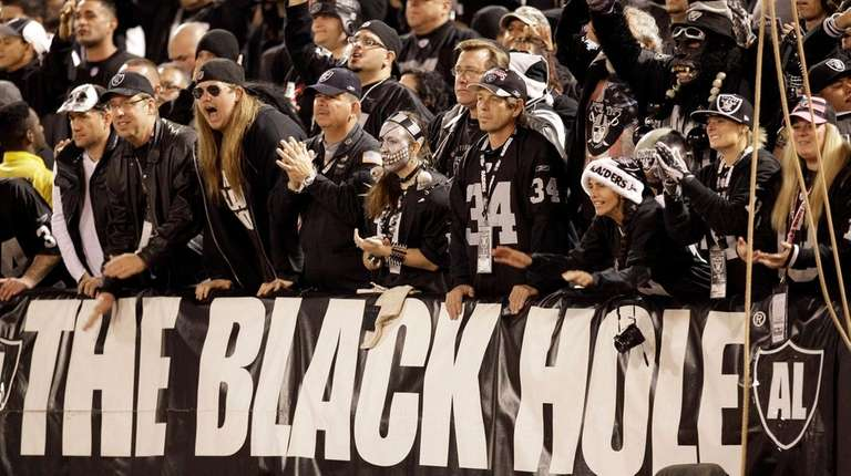 The Black Hole fan section is shown during