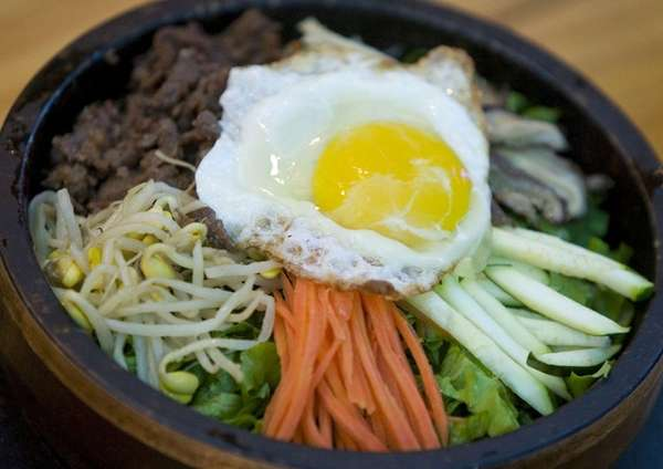 Dolsot bibimpap was one of the Korean specialties