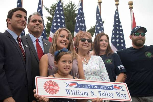 Marie Tolley, wife of FDNY firefighter William Tolley,